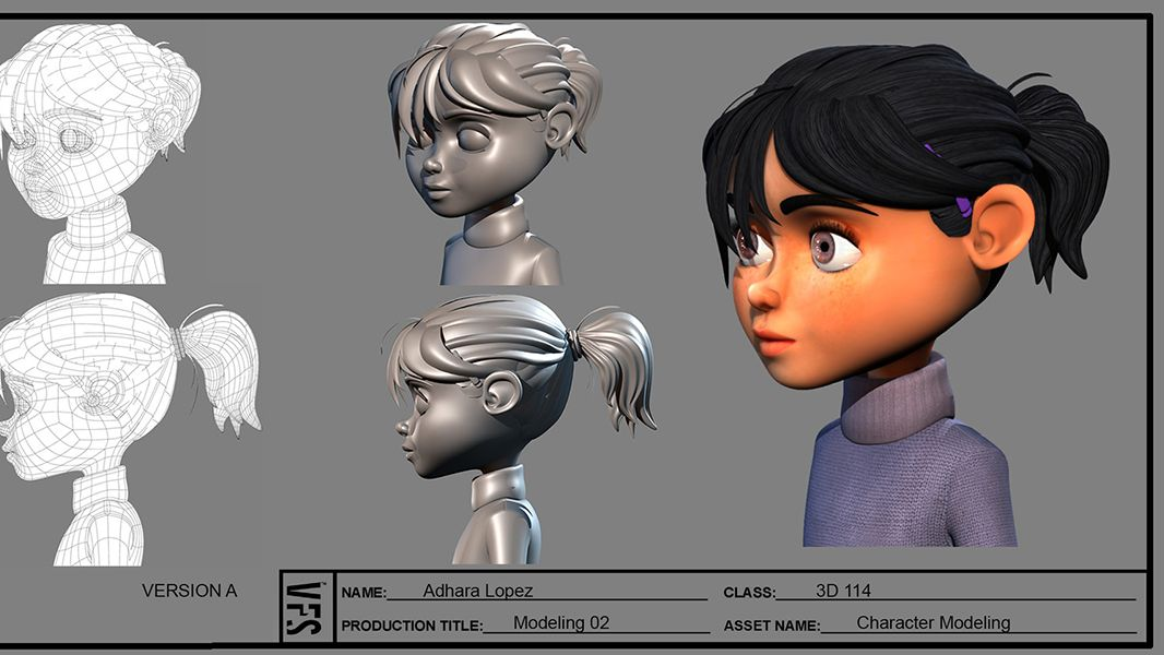 3d Character Design Header